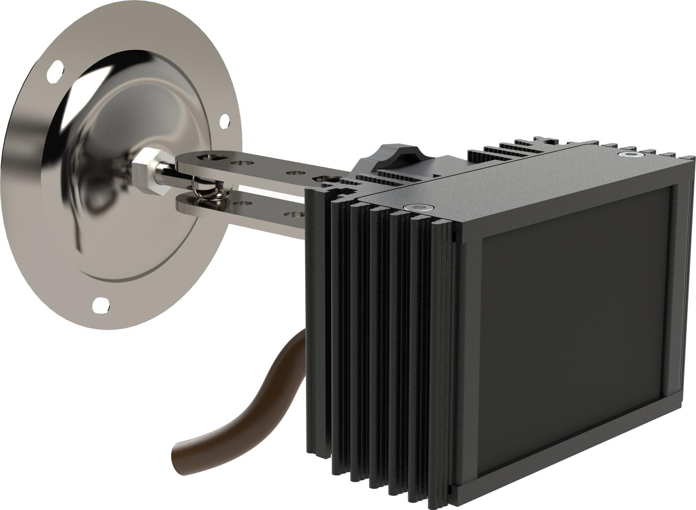 Инфракрасный прожектор Microlight IR Helios S-60/6 940 нм Для полностью скрытого видеонаблюдения Широкоугольный 60 град. Дальность до 15 метров ночного видения Уличный IP67
