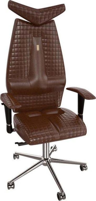 Офисное кресло Kulik System Jet, 302, коричневый