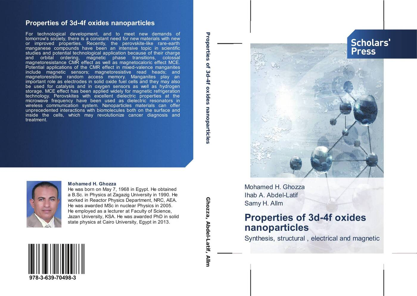 Mohamed H. Ghozza,Ihab A. Abdel-Latif and Samy H. Allm Properties of 3d-4f oxides nanoparticles magnetic and dielectric properties of materials