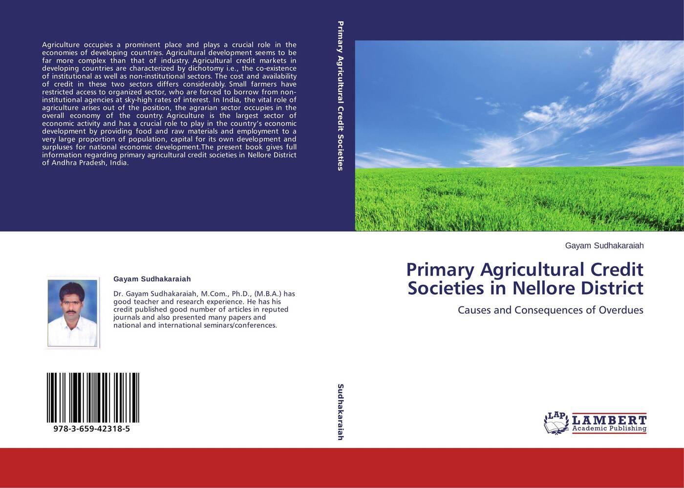 цены на Gayam Sudhakaraiah Primary Agricultural Credit Societies in Nellore District  в интернет-магазинах