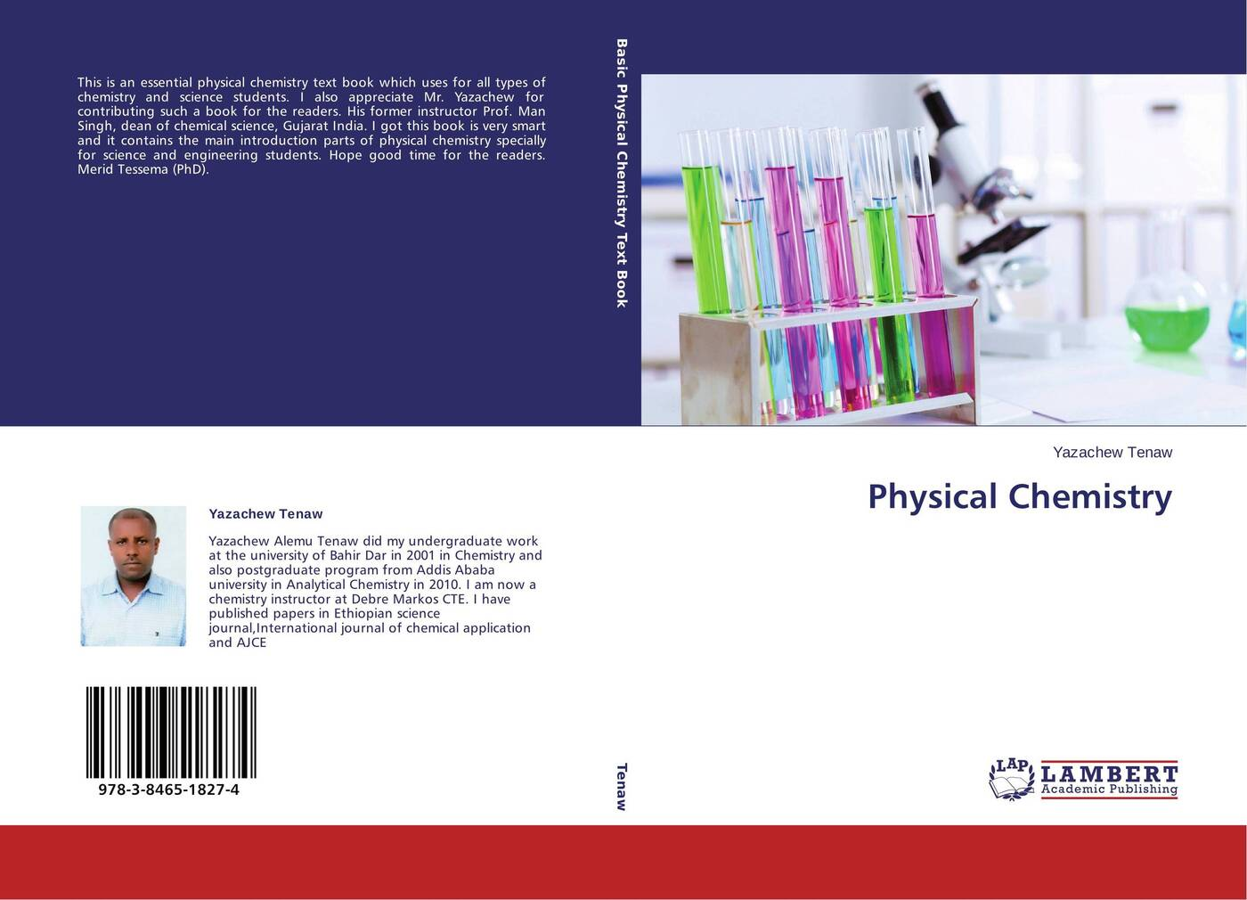 Yazachew Tenaw Physical Chemistry kurt kolasinski w physical chemistry how chemistry works
