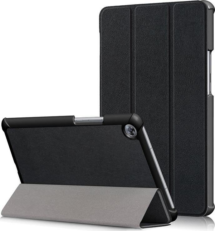 купить Чехол-обложка MyPads для Acer Iconia One B3-A10 / B3-A11 10.1/ Android 5.1 / NT.LB6EE.003 / MediaTek MT8151 1.7 GHz тонкий умный кожаный на пластиковой основе с трансформацией в подставку черный по цене 1091 рублей