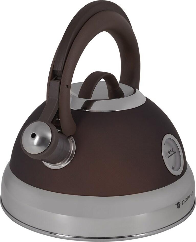 Чайник Polaris Etna-3L со свистком 3.0 л. нержавеющая сталь