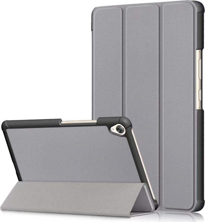 """Чехол-обложка MyPads для Lenovo TAB 2 A7-20F 7.0"""" тонкий умный кожаный на пластиковой основе с трансформацией в подставку черный"""