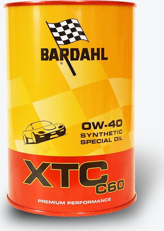 Моторное масло Bardahl XTC C60, синтетическое, 0W-40, 1 л 300040