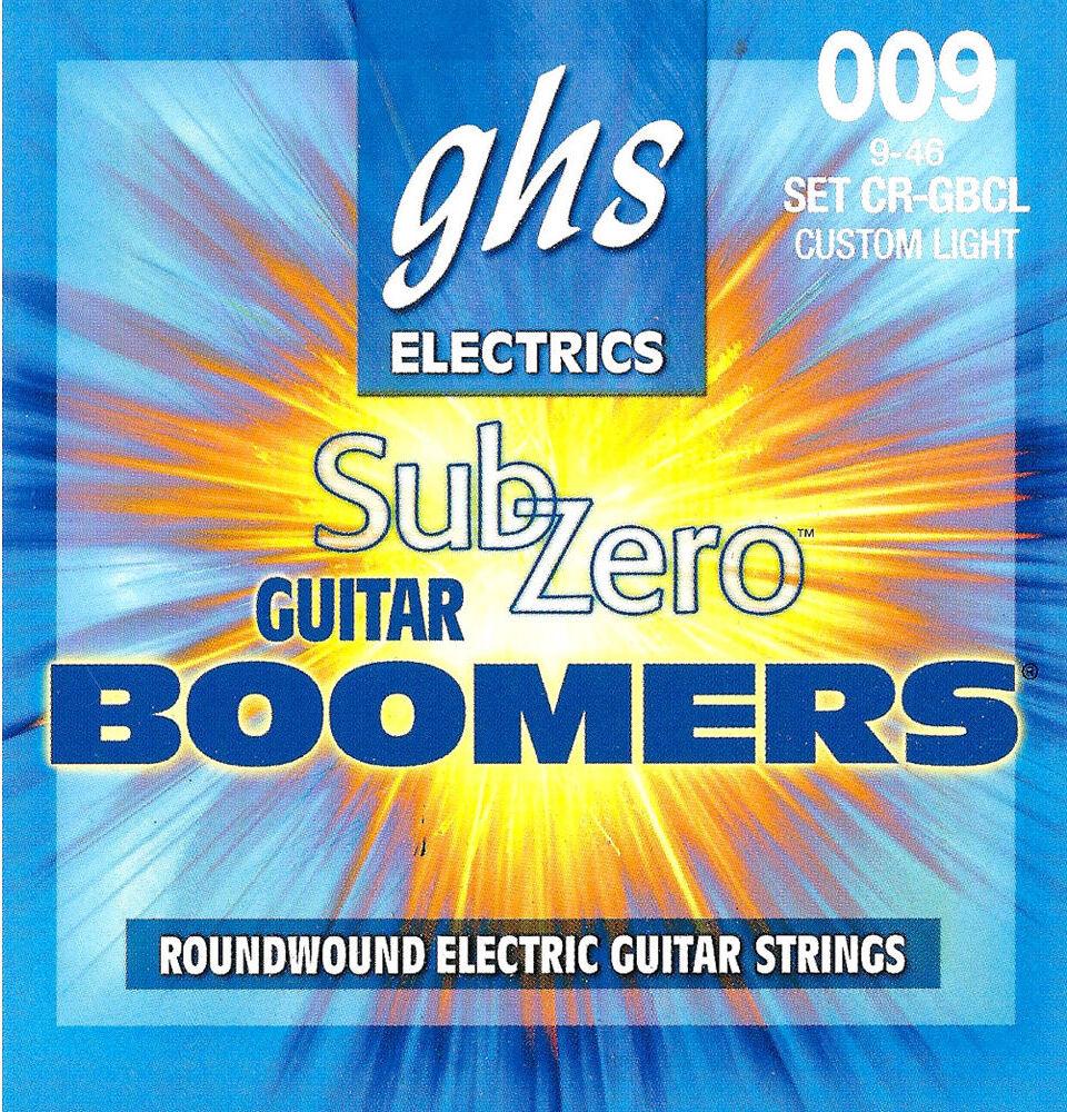 GHS CR-GBCL Струны для электрогитары (09-46)