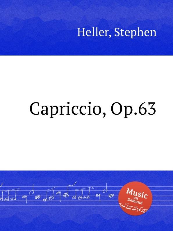 Capriccio, Op.63
