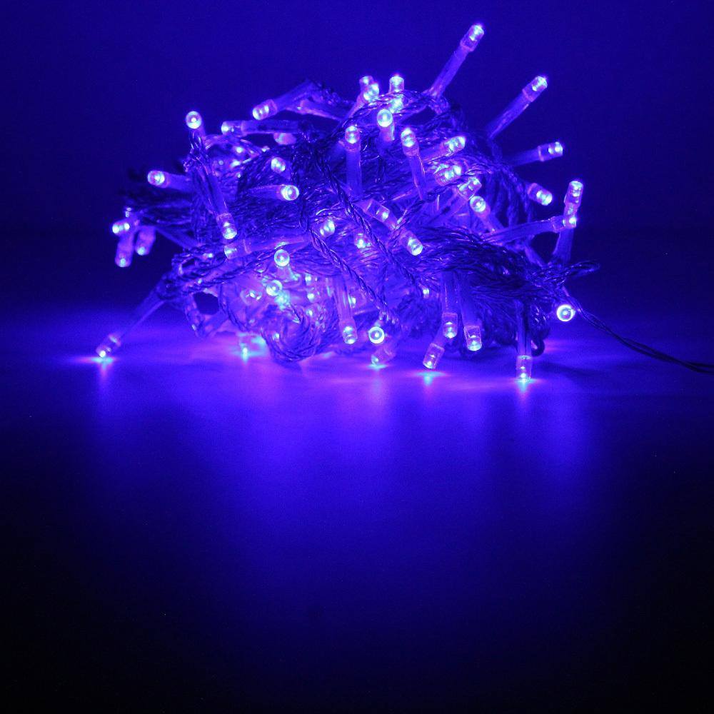 Гирлянда-нить SH Lights LD120-B-E, 12 м, 120 светодиодов, цвет: синий