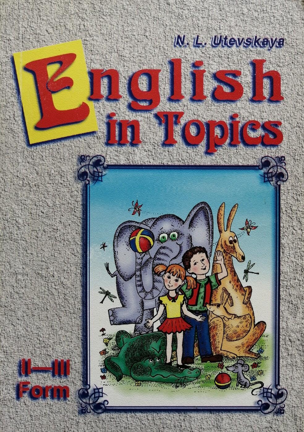 English in Topics : II-III for ...