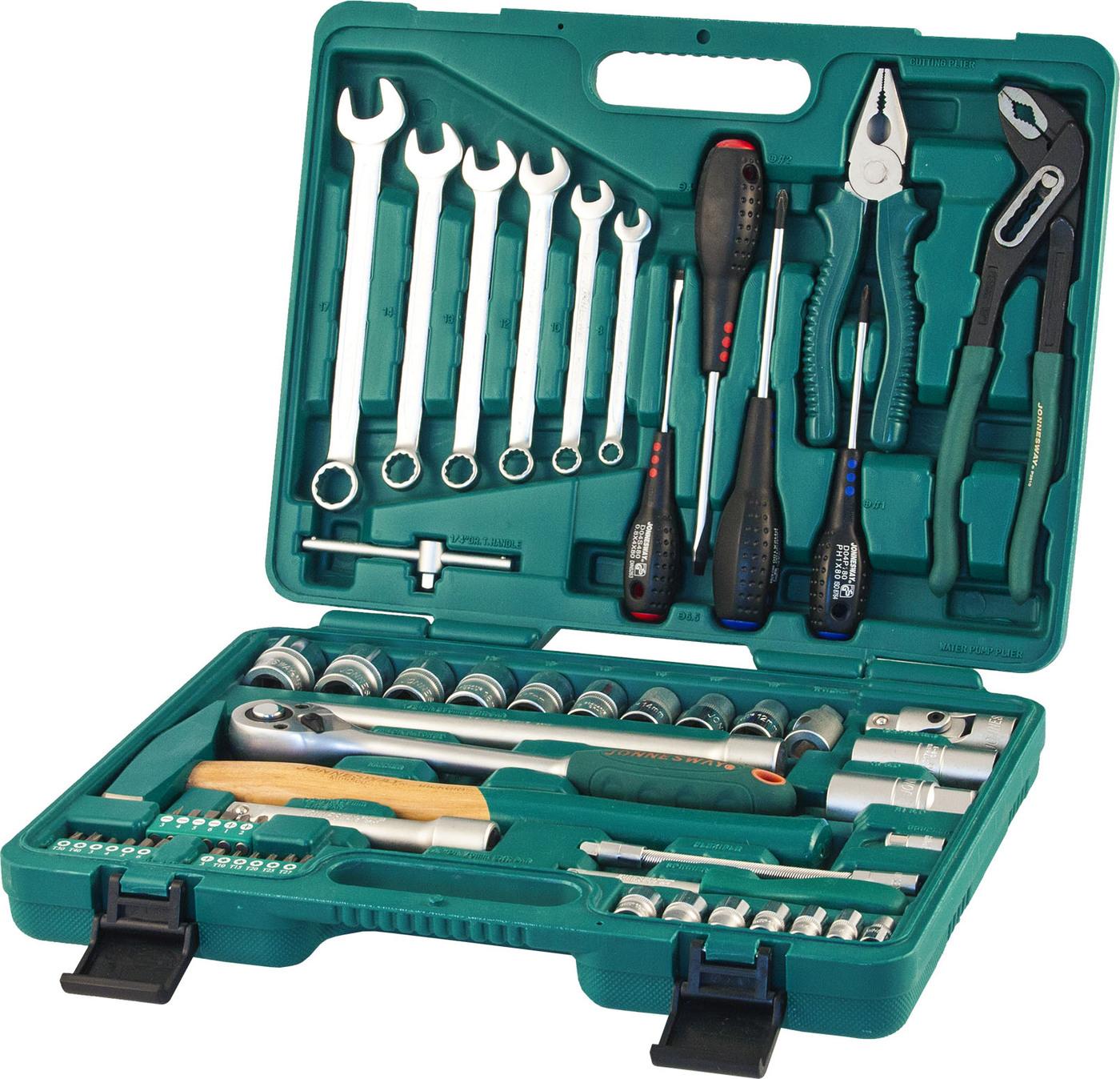 Набор инструментов 60 предметов JONNESWAY S04H52460S