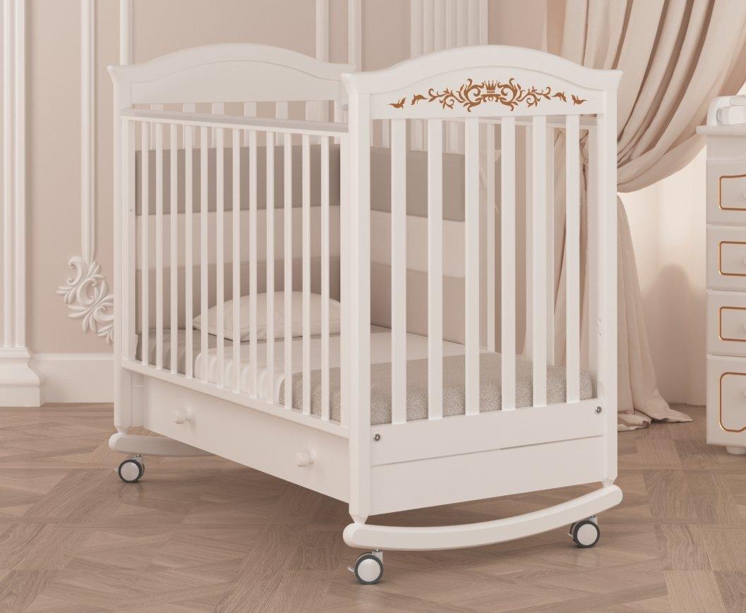 Кровать детская Гандылян Даниэль Люкс (белый)