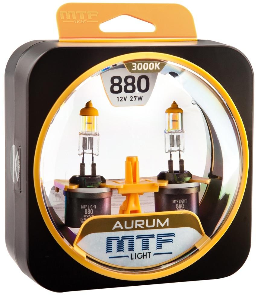 Галогеновые лампы MTF light Aurum 3000K H27(880)