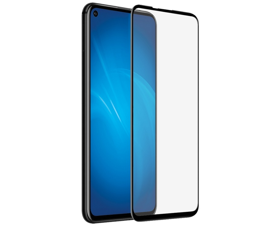 Защитное стекло 5D Tempered Glass для Huawei Honor 20 Pro черное