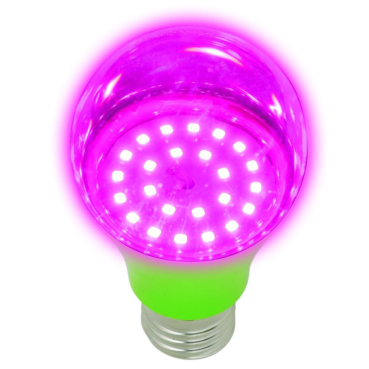 Светодиодная фито-лампа для растений Uniel LED-A60-8W/SPSB/E27/CL