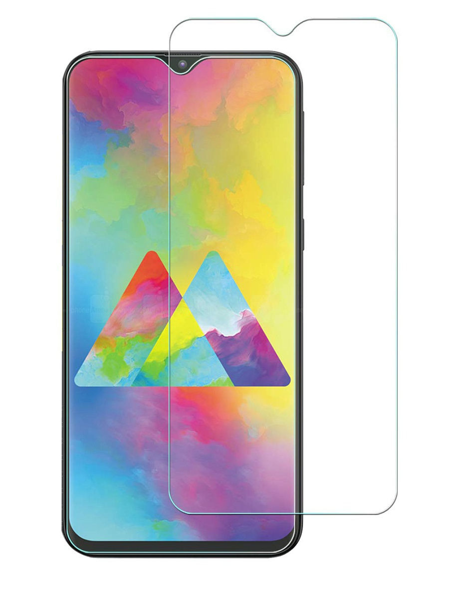 Защитное стекло для Samsung Galaxy M20. Противоударная сверх защита 9H для Самсунг Галакси М20, DIMD