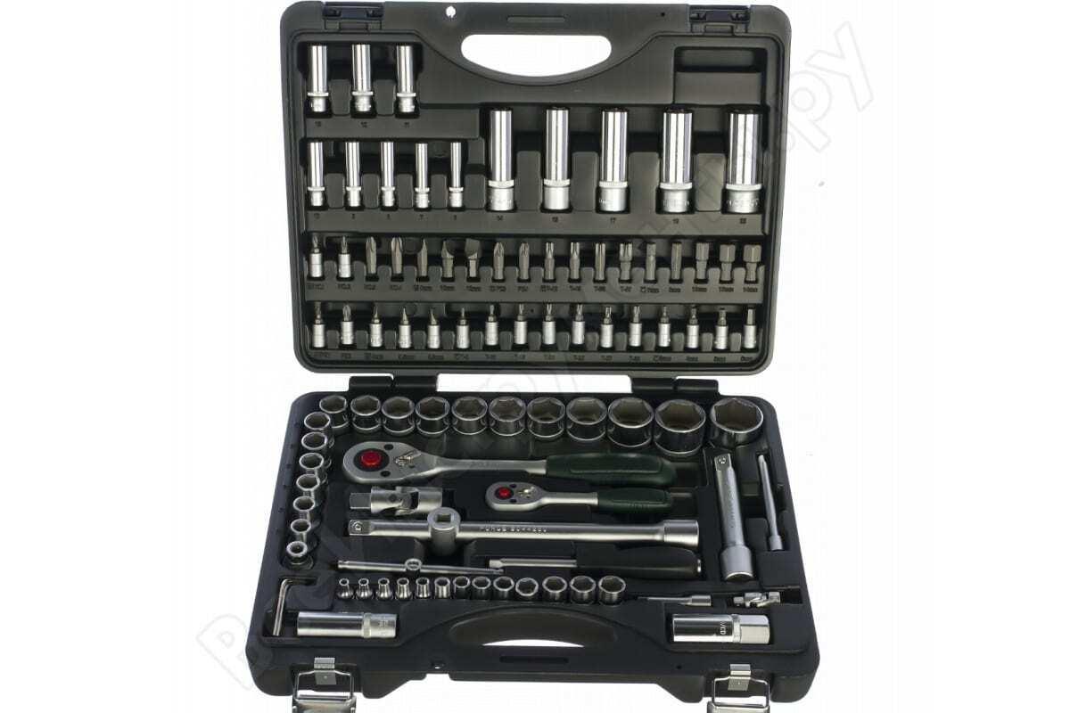 Набор инструментов FORCE 94 предмета с 6-гранными головками 1/4 1/2 4941R-5