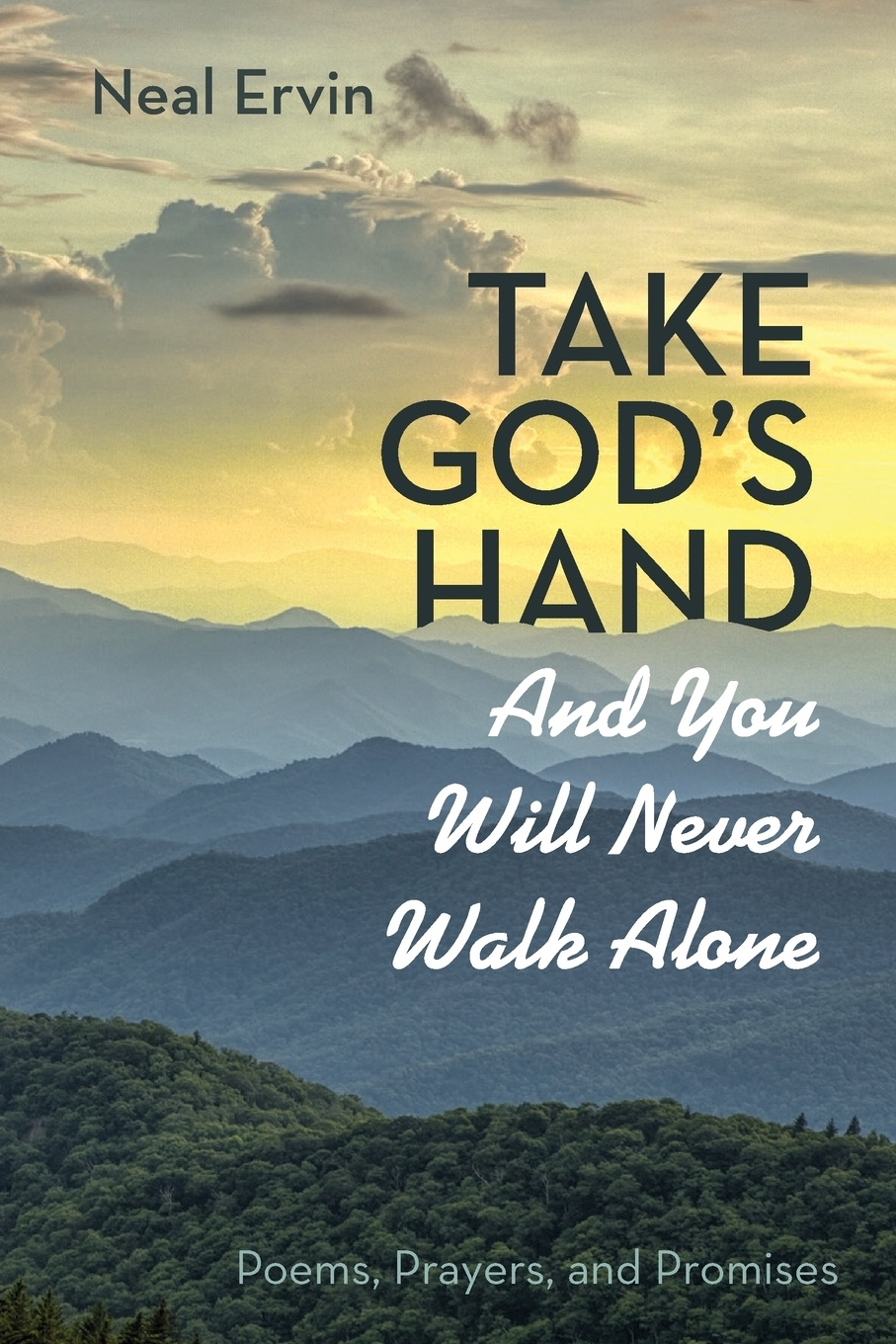 Neal Ervin. Take God's Hand and You Will Never Walk Alone. Poems, Prayers, and Promises