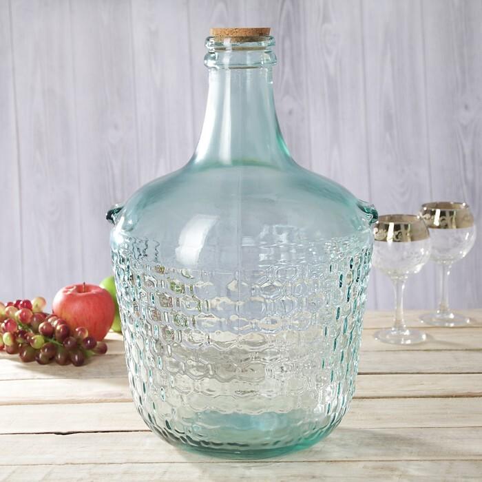 бутыль стеклянная 5 литров