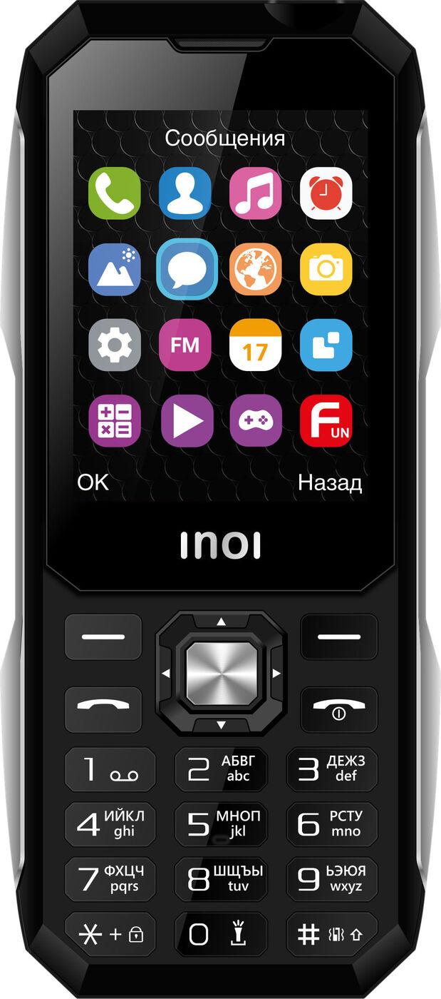 мобильный телефон inoi 246z, черный