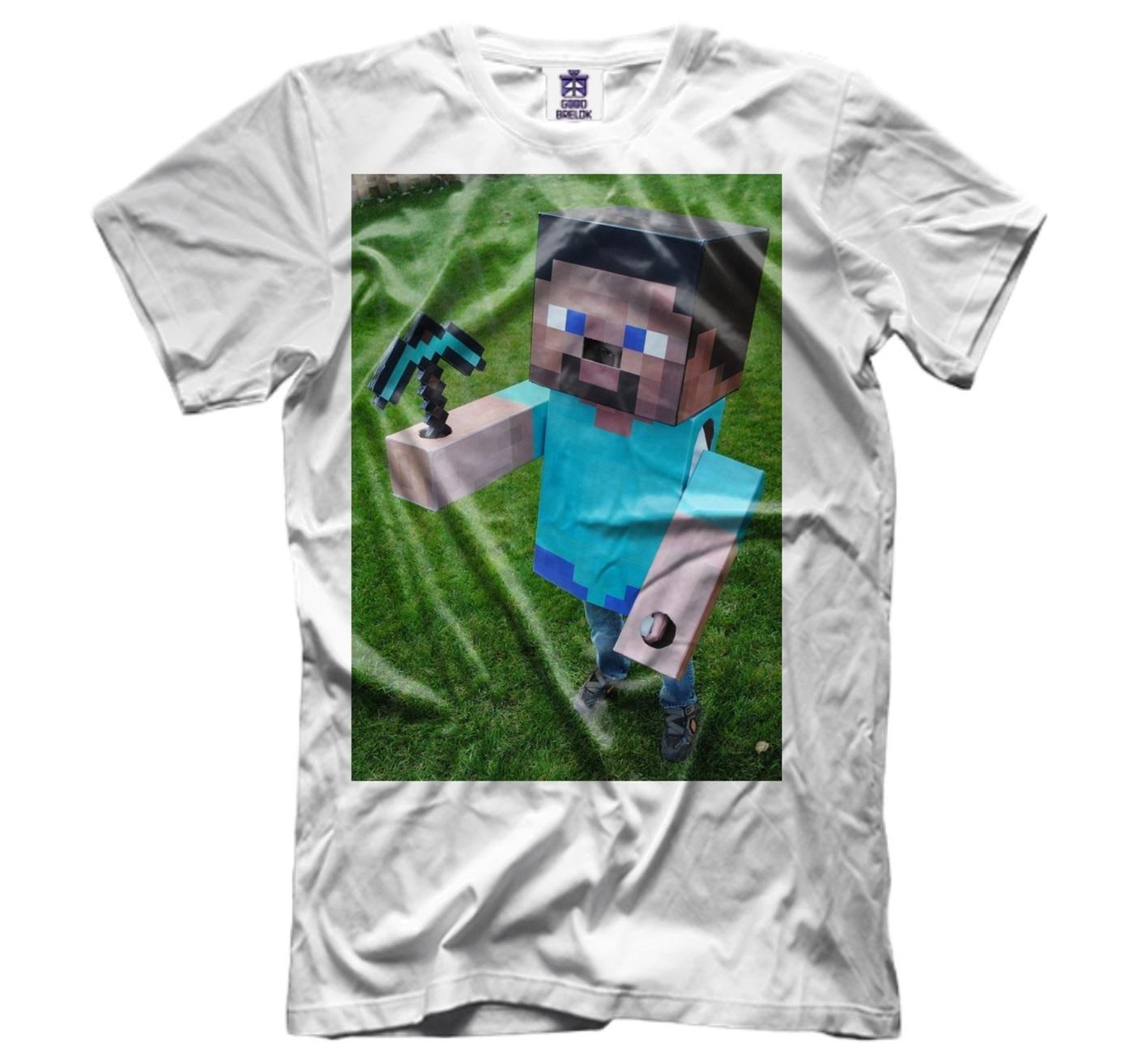 озон футболки с майнкрафт #6