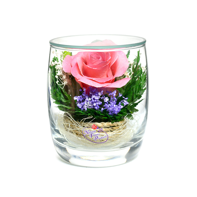 стабилизированные цветы в стекле в вакууме, не вянут 7 лет - nfsmrp