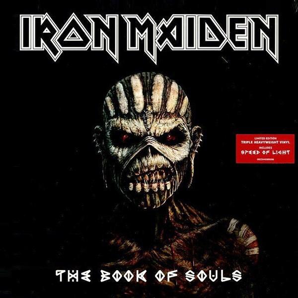 Виниловая пластинка Iron Maiden: The Book Of Souls (180g) (Limited Edition)