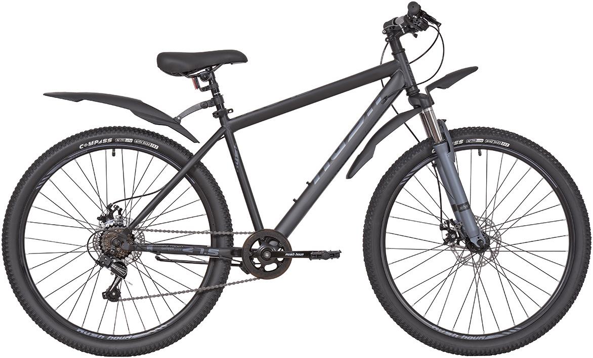 """Велосипед горный 27,5"""" 6ск RUSH HOUR NX 675 DISC ST 6ск черный рама 18"""" RUSH HOUR Уцененный товар (№2)"""