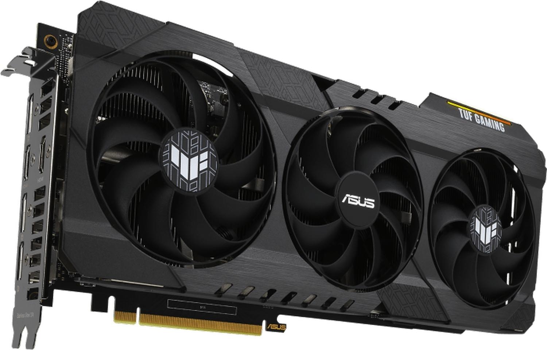 Видеокарта ASUS GeForce RTX 3060 12 ГБ (TUF-RTX3060-O12G-V2-GAMING), rev. 2.0 (LHR)