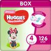 Huggies Подгузники для девочек Ultra Comfort 8-14 кг (размер 4) 126 шт - изображение