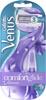 Женская бритва Gillette Venus Breeze + Сменные кассеты Джилет cо встроенными полосками с гелем 2 шт - изображение