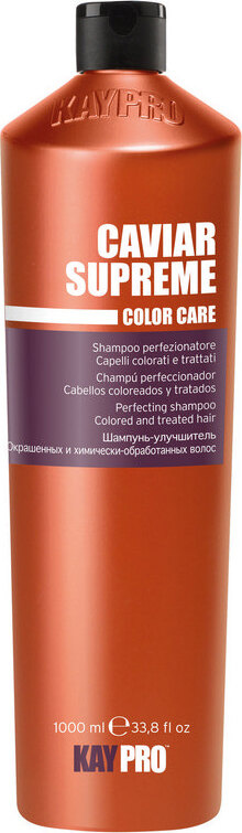 KayPro Шампунь с икрой для улучшения окрашенных и химически обработанных волос Caviar Supreme 1000 мл #1