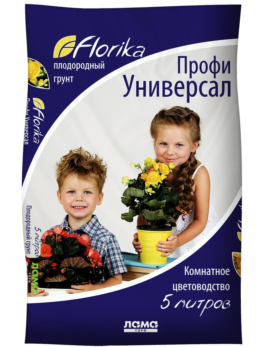 """Грунт для растений """"Профи Универсал"""", 5л, Florika #1"""