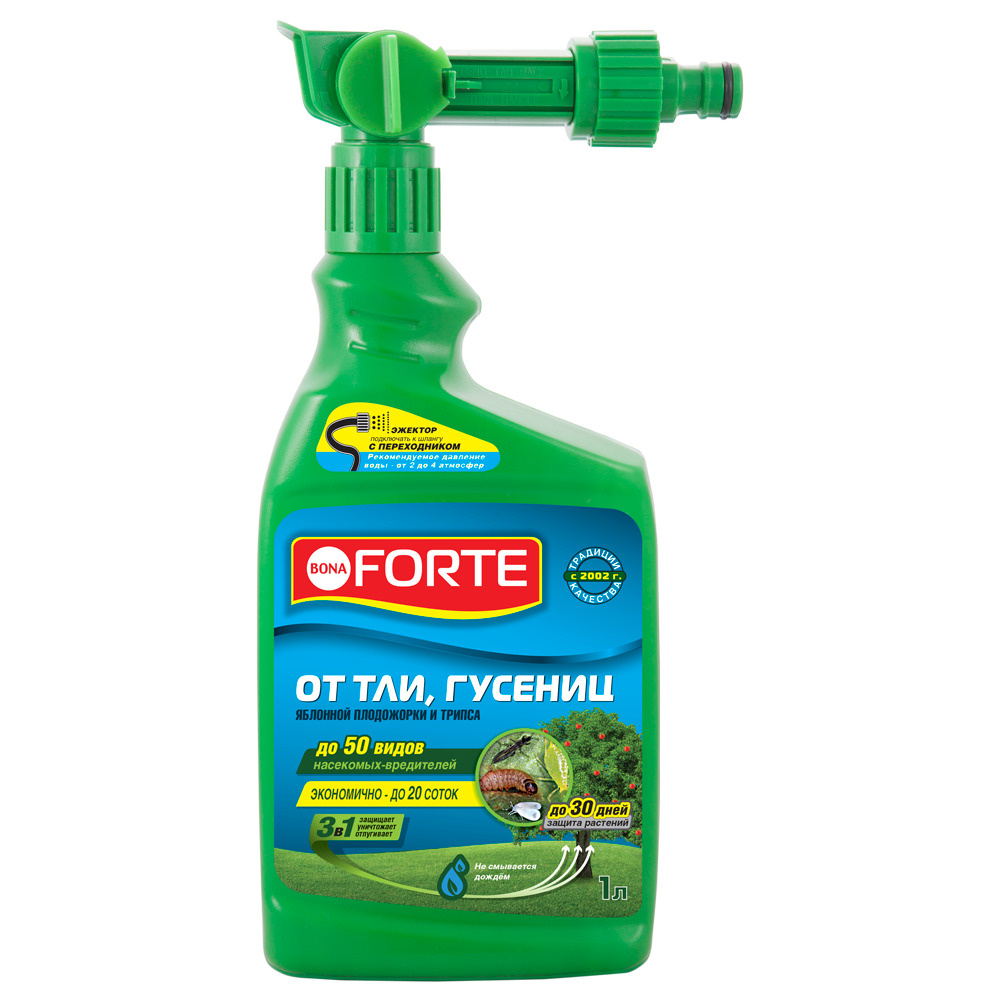 Эжектор Bona Forte от ТЛИ, ГУСЕНИЦ и других насекомых, 1 л #1