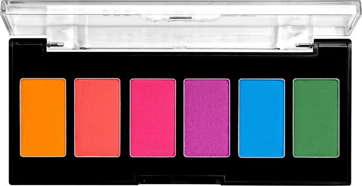 NYX Professional Makeup Ultimate Edit Petite Shadow Palette Мини-палетка теней для век, оттенок 02, Brights, #1
