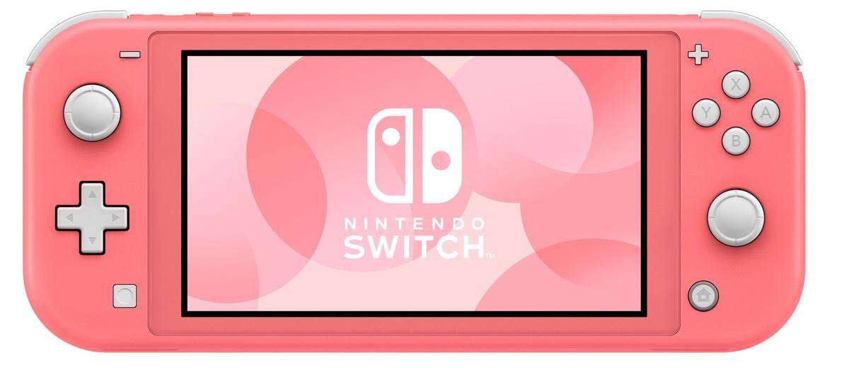 Игровая консоль Nintendo Switch Lite, коралловый, розовый #1