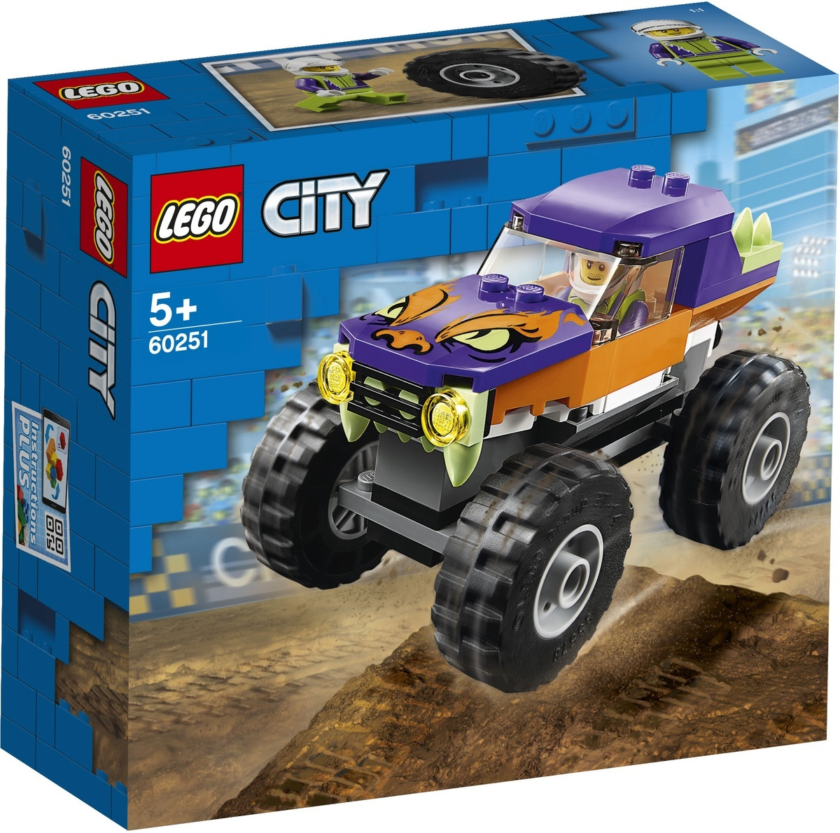 Конструктор Lego City Great Vehicles 60251 Монстр-трак #1