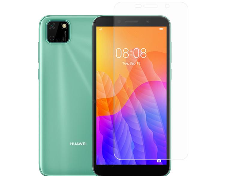 Защитное противоударное стекло MyPads на Honor 9S (DUA-LX9) / Huawei Y5p с олеофобным покрытием (только #1
