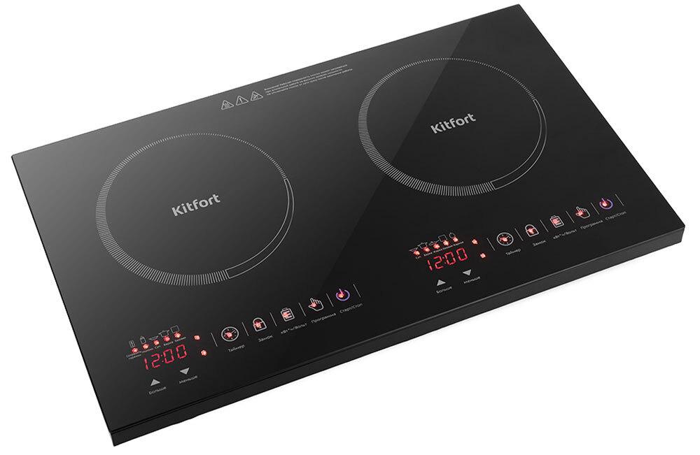 Индукционная Настольная плита Kitfort KT-105, черный #1
