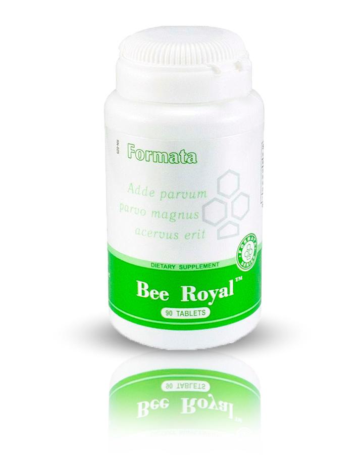"Bee Royal ""Santegra"" (Спирулина). Пчелиная пыльца, октакозанол, 125 мг  #1"