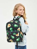 Рюкзак с авокадо / Рюкзак школьный / рюкзак для девочки / рюкзак для мальчика/