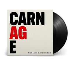 Виниловая пластинка Nick Cave & Warren Ellis. Carnage (LP). Nick Cave 2021