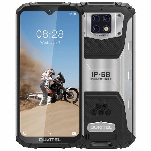 Смартфон Oukitel WP6 черный 128 ГБ купить по низкой цене: отзывы, фото, характеристики в интернет-магазине Ozon