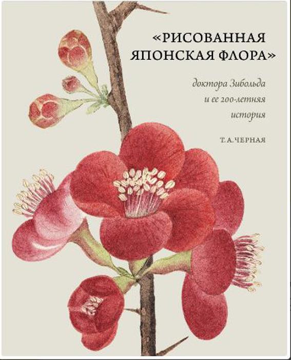 Черная Т.А. Рисованная Японская Флора доктора Зибольда и ее 200-летняя история