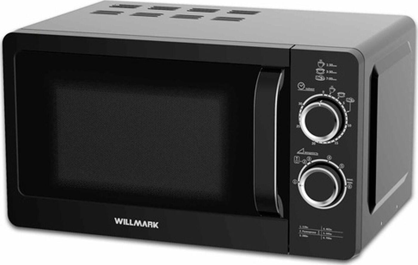 Микроволновая печь Willmark WMO-232MH, черный