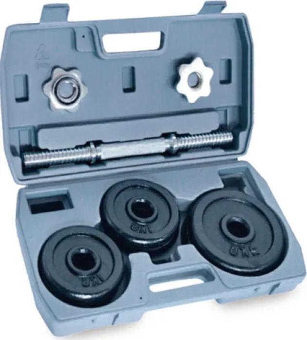 Гантель наборная Iron People IR92057, черный, 10 кг, в кейсе