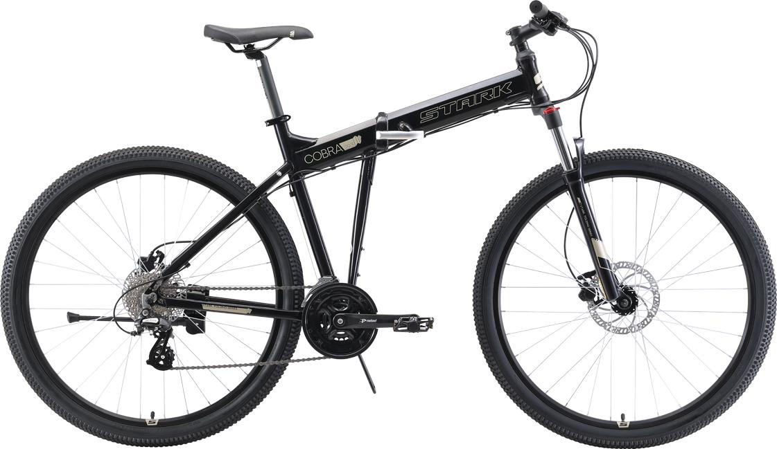 Велосипед STARK Cobra 29.3 HD 2019 20 чёрный/серый