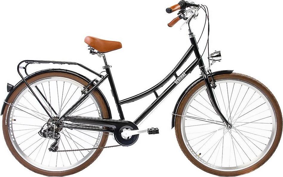 Велосипед Bear Bike Лиссабон черный (рост 480 мм) 2019