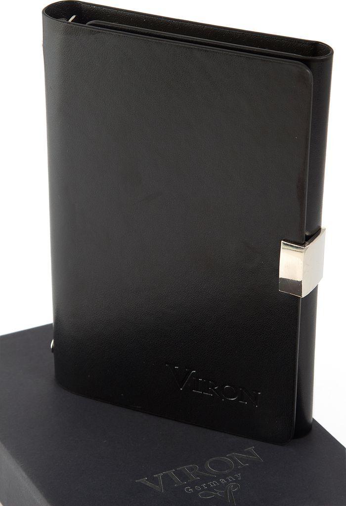 Ежедневник Viron, недатированный, 82721, черный, 80 листов