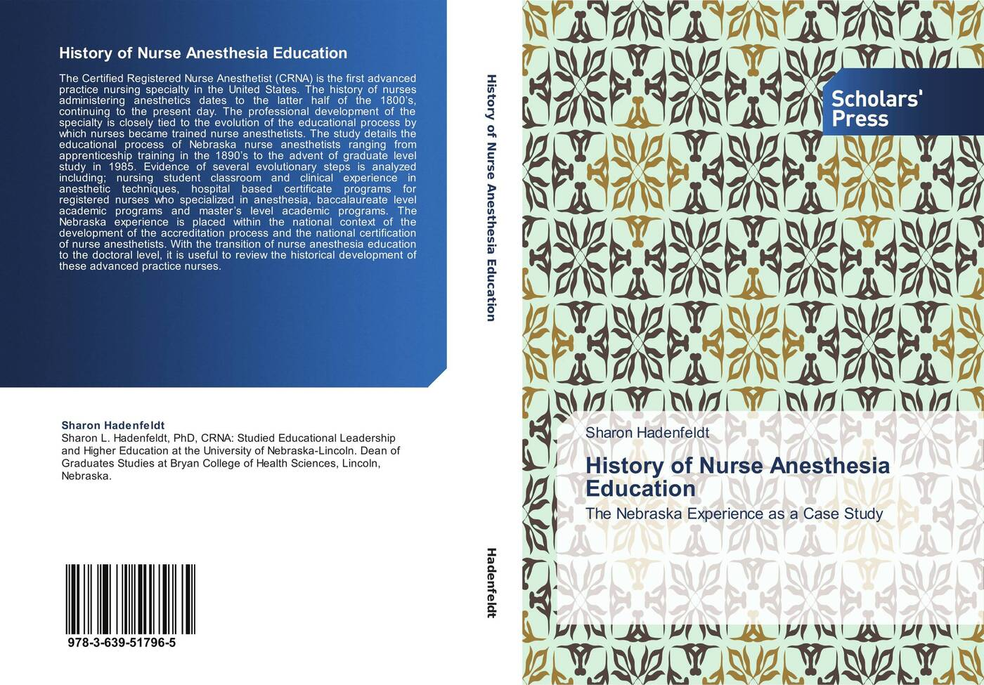 Sharon Hadenfeldt History of Nurse Anesthesia Education brown marie annette the advanced practice registered nurse as a prescriber