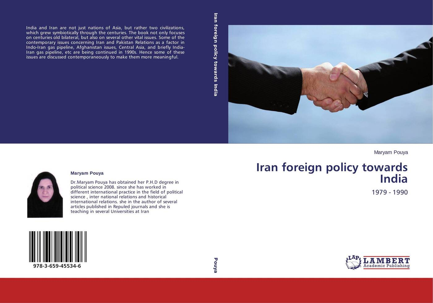 Maryam Pouya Iran foreign policy towards India suggestions for iran and the world